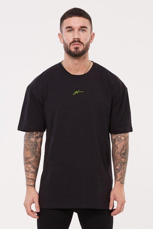 Oversized Neon Script T-shirt