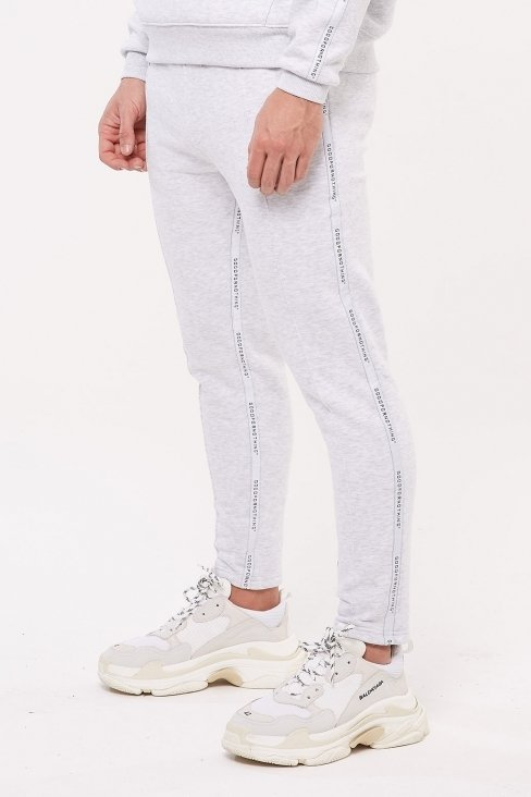 Future Cropped Grey Joggers