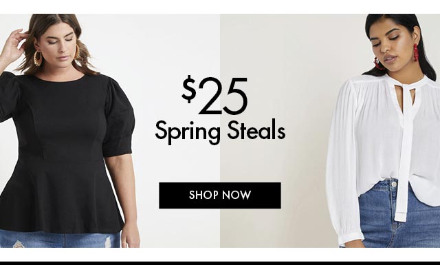 $25 Spring Steals BB