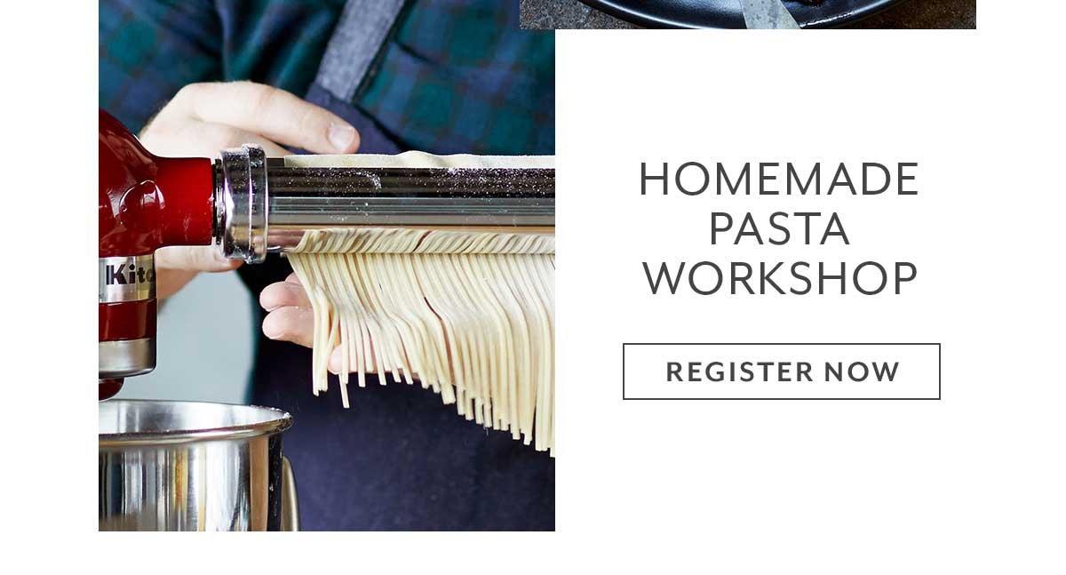 Class: Homemade Pasta Workshop