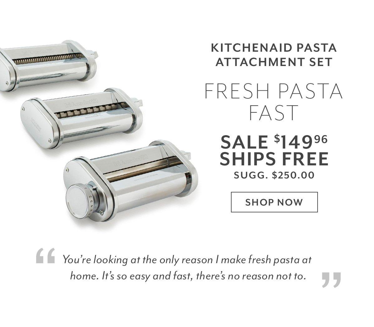 KitchenAid Pasta Attachment Set