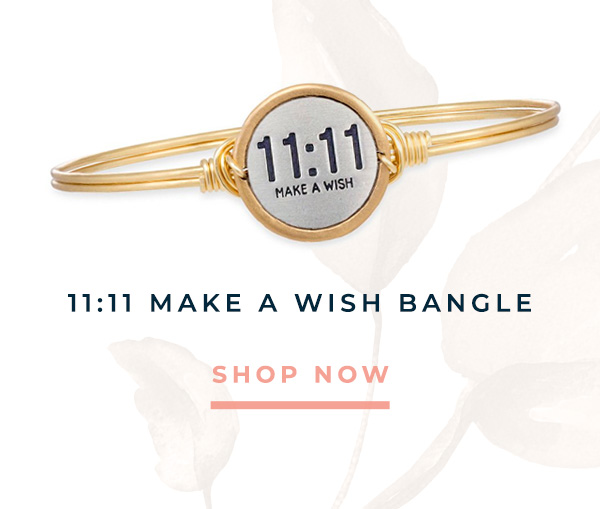 11:11 MAKE A WISH BANGLE | SHOP NOW