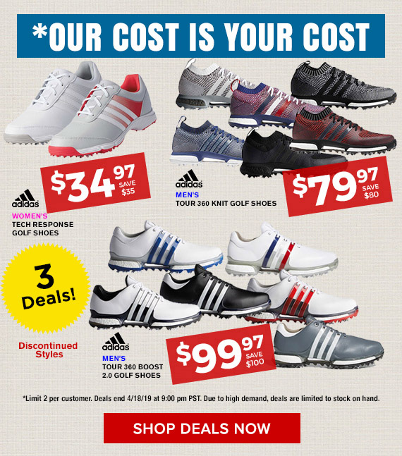Golf Discount .com: Adidas Golf Shoes on Sale: Tour360 Knit