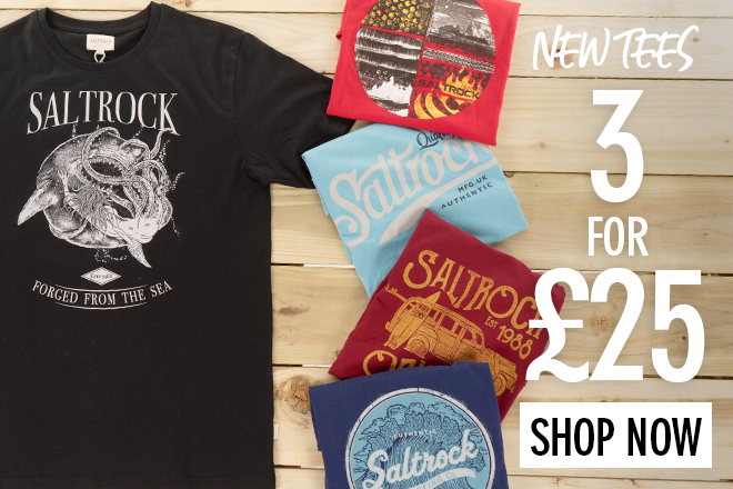4fbf9ae858dd Saltrock: 3-for-£25 Tees (New Styles Added) | Milled
