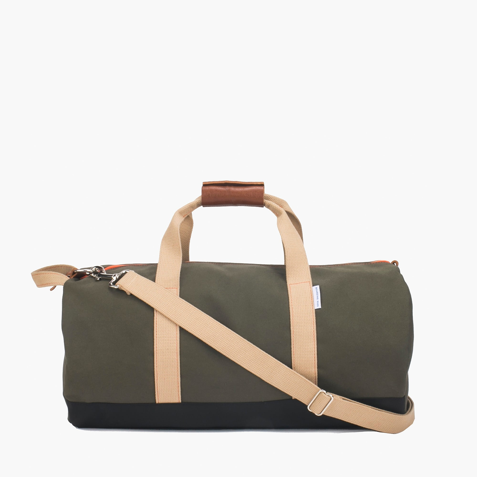 Boarding Pass NYC™ Work Hard, Play Hard duffel bag