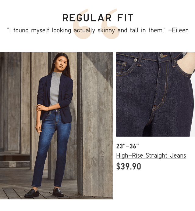 BODY3-HIGH RISE STRAIGHT JEANS