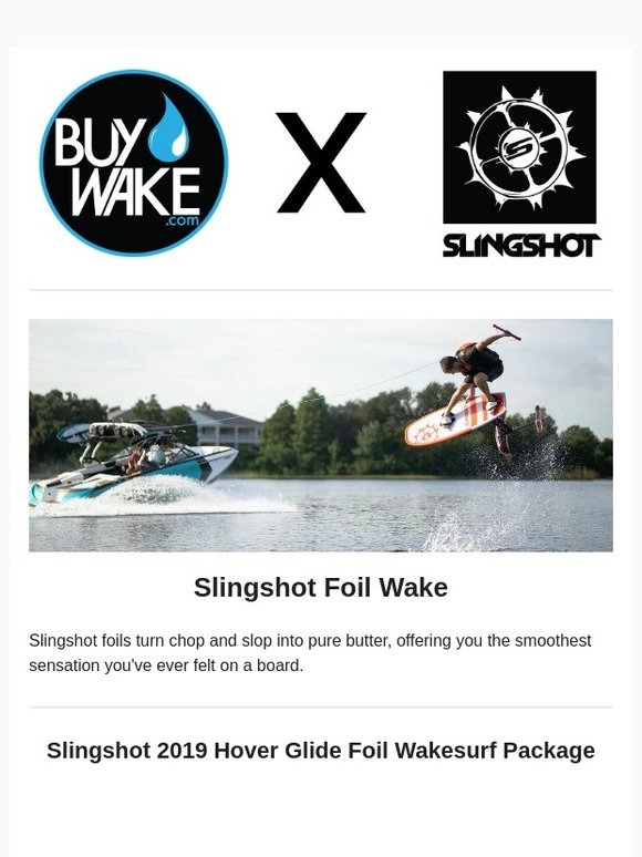 Slingshot Foil 2019