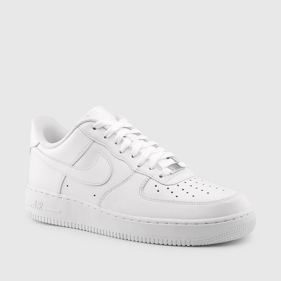 white low top air force 1s