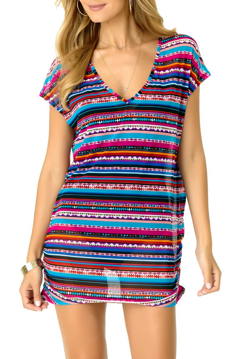Image of Anne Cole Women's Retro Braid Mesh Cover Up