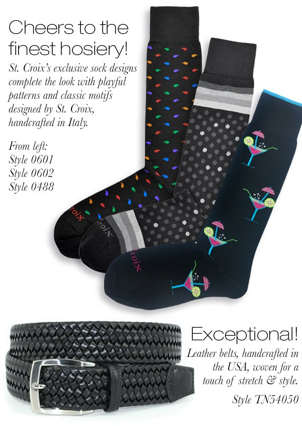 St. Croix's Exclusive Hosiery Collection