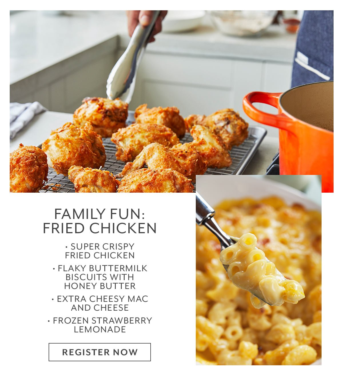 Family Fun • Fried Chicken