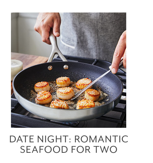 Date Night • Romantic Seafood for Two