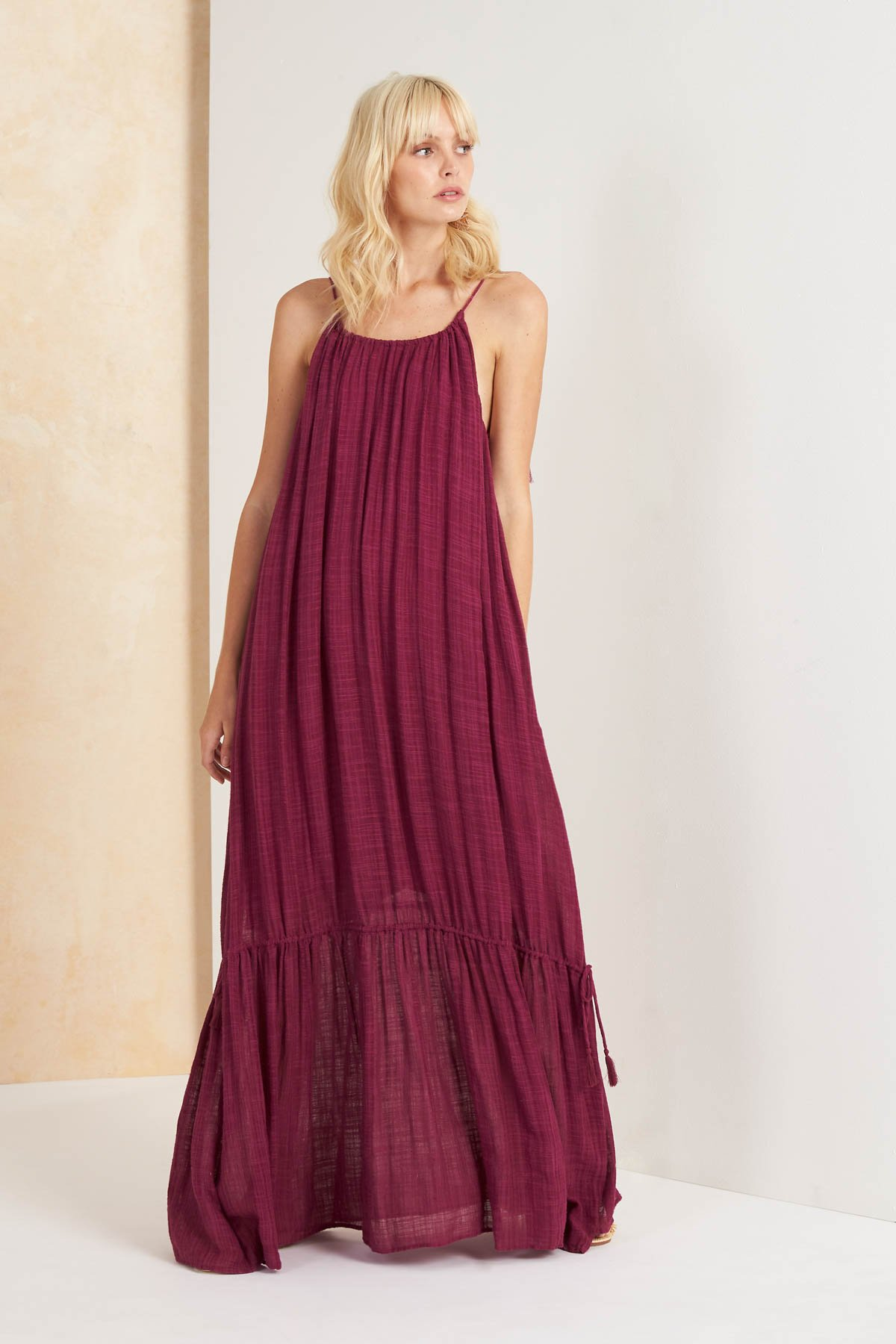 Image of Paradalis Maxi Dress - Magenta