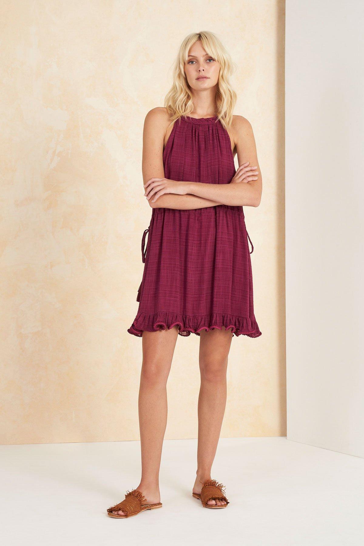 Image of Paradalis Mini Dress - Magenta