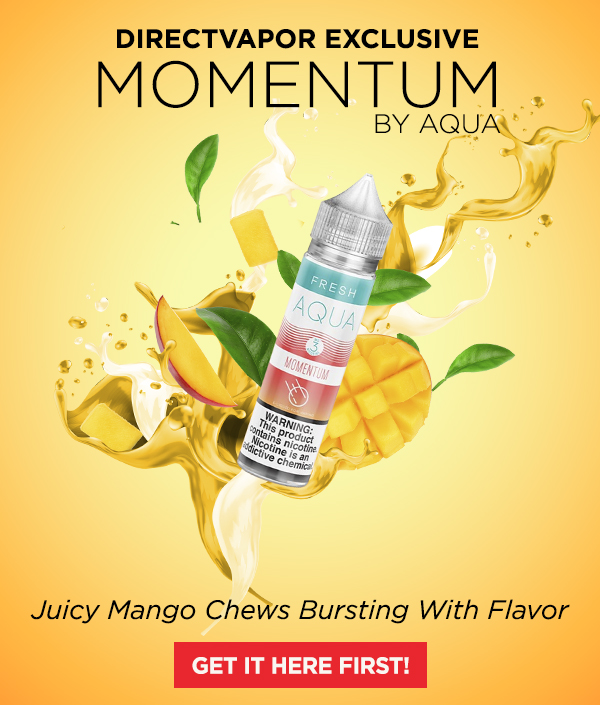 directvapor: Momentum by Aqua: A Juicy Mango Exclusive
