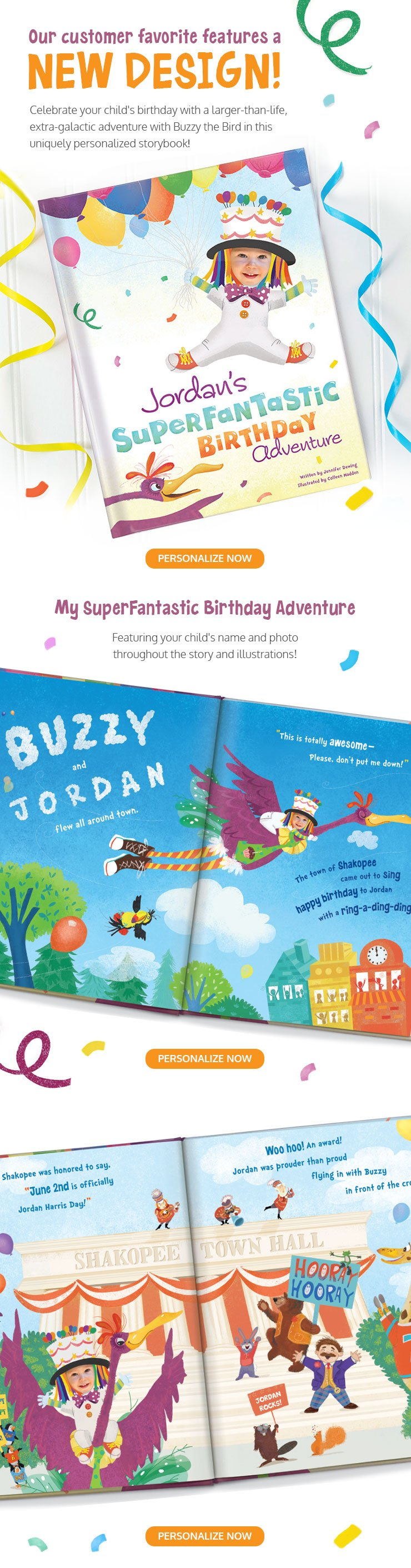 It's My Birthday! Personalized Storybook