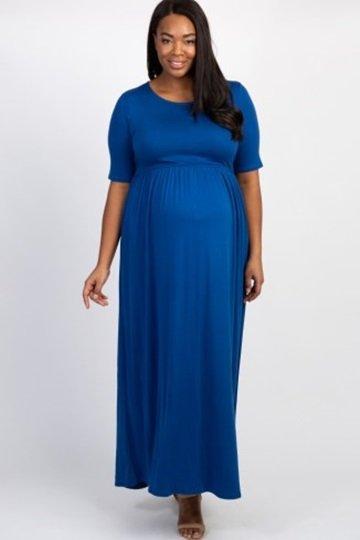 Maternity Plus Dress 1