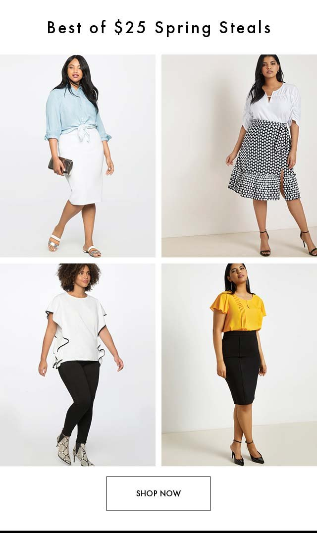 $25 Spring Steals 4.18 PM MM