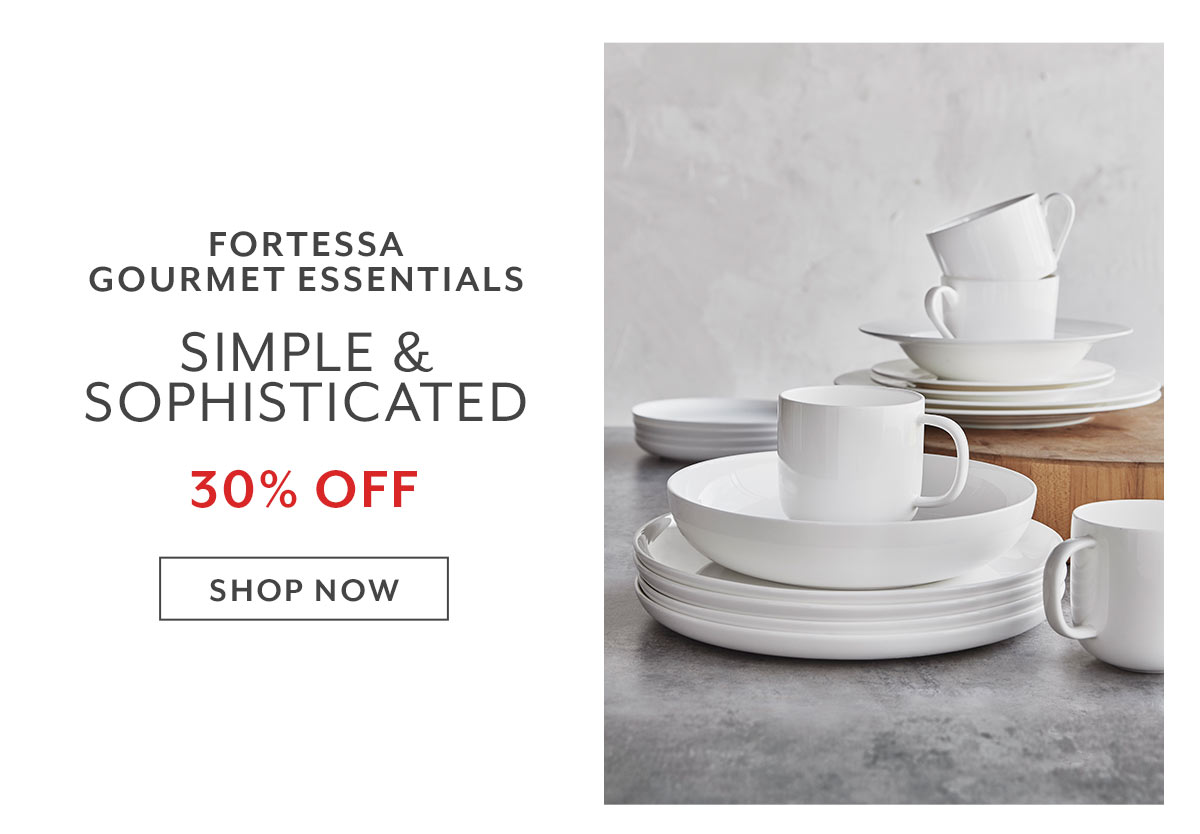 Fortessa Gourmet Essentials