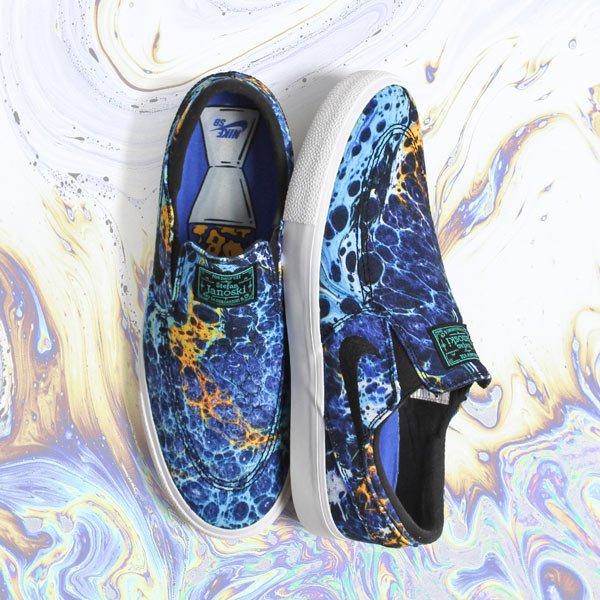 6e74590bc358 Nike SB Zoom Stefan Janoski Slip On RM Canvas Shoes