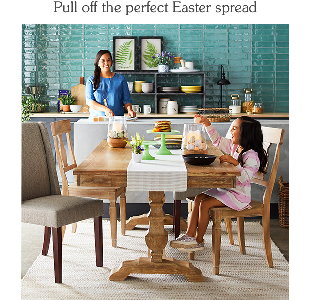 Pull off the perfect easter spread.