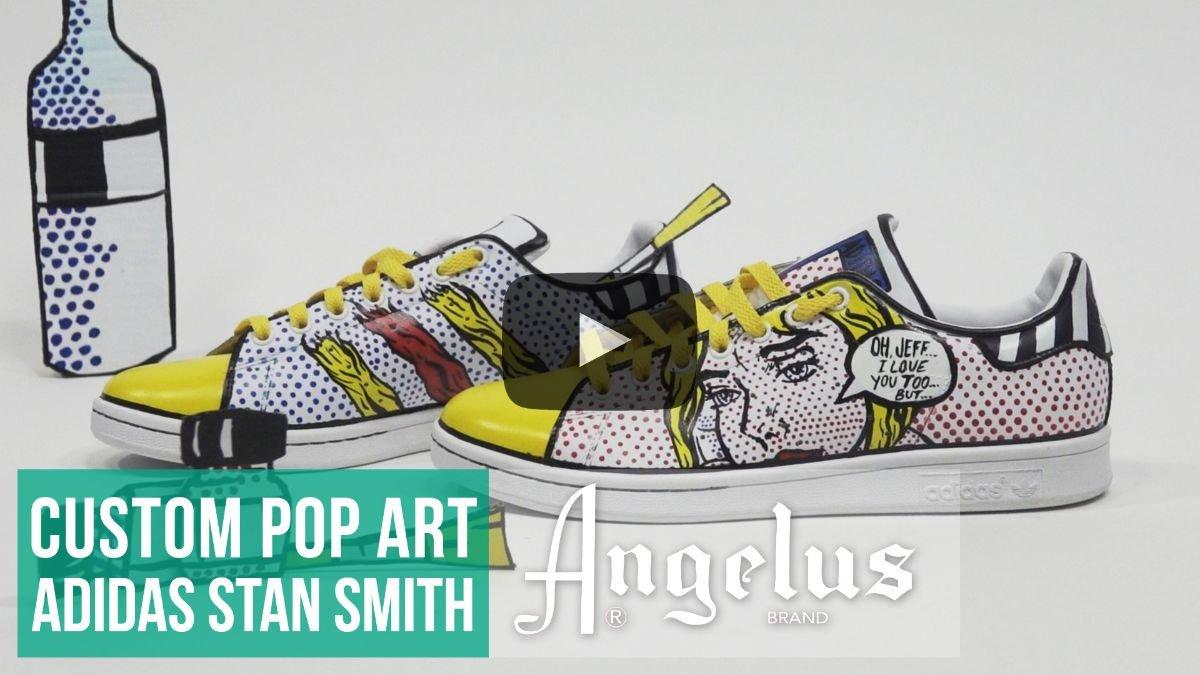prezzo più basso vendita scontata Garanzia di soddisfazione al 100% Angelus Direct: New Tutorial! - Custom Pop Art Adidas | Milled