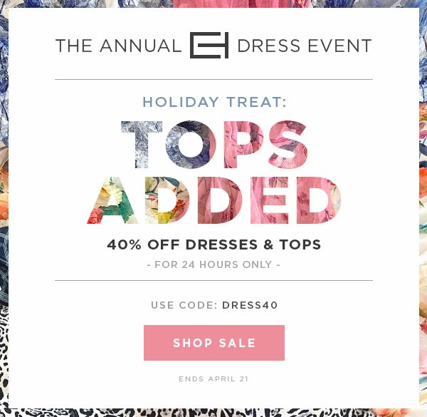 7375d3c8125 Elie Tahari  Holiday Treat  40% Off Tops Added - The Annual Dress ...