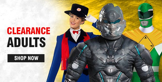 Adult Clearance Costumes