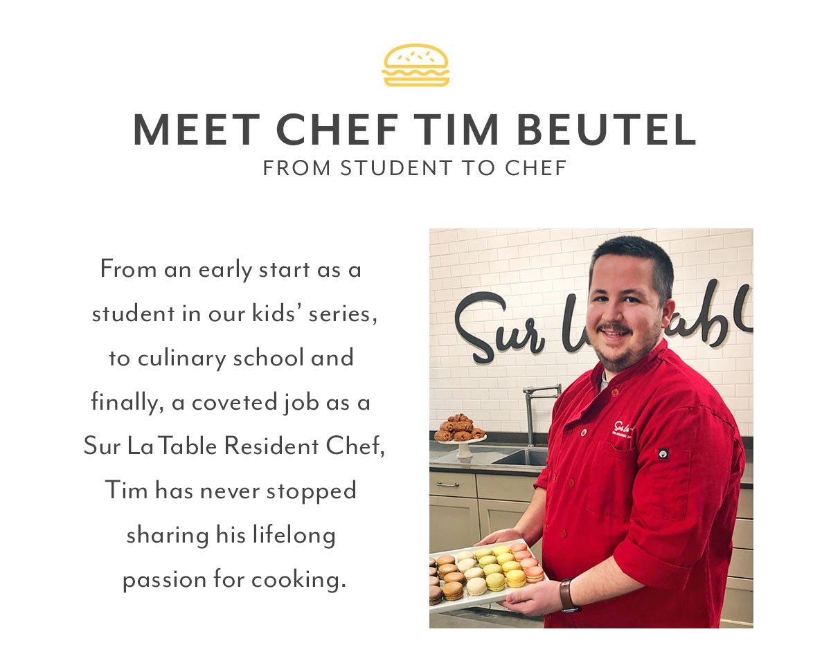 Meet Chef Tim Beutel