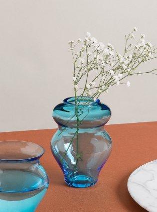 'Anfora' vase, blue