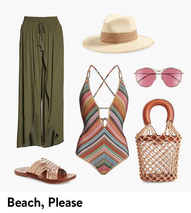 Beach, please.