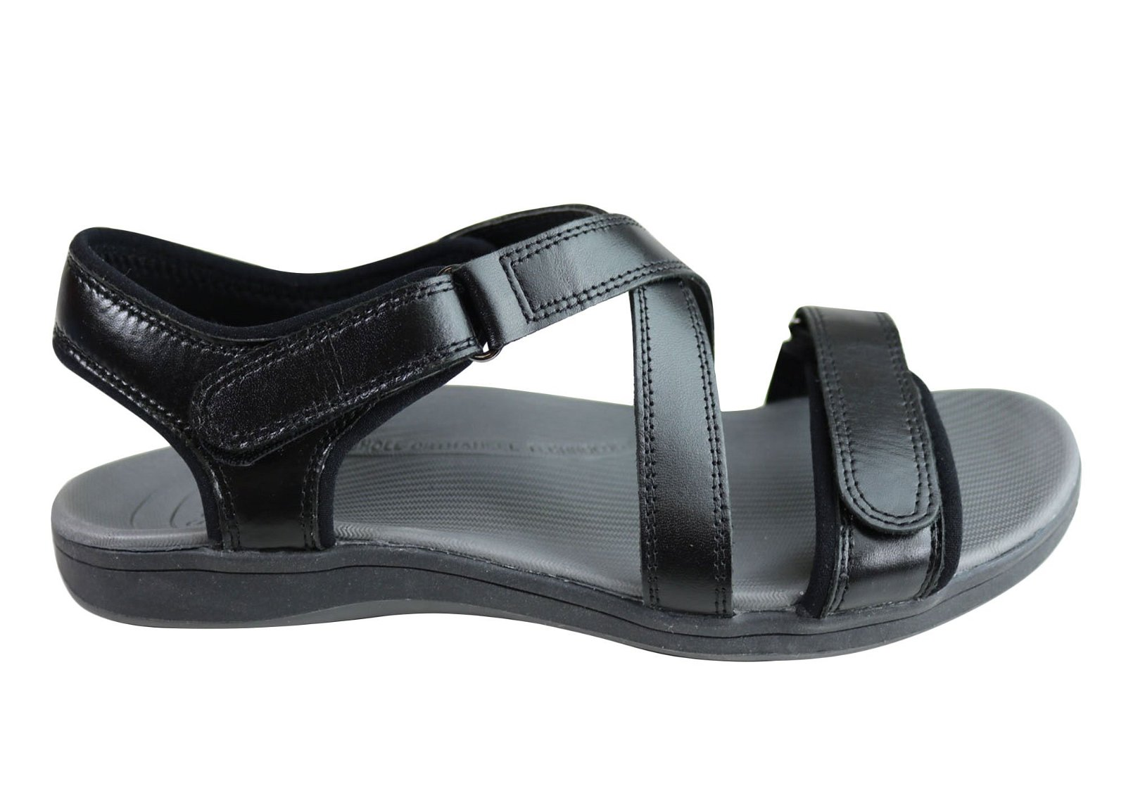 d2c14c469117 Image of Scholl Orthaheel Kayla Womens Comfort Supportive Adjustable Sandals