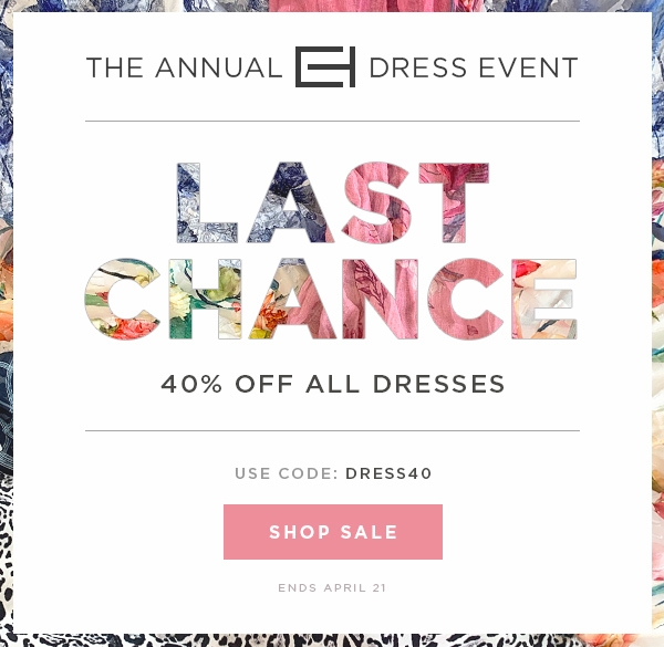 d98644dfe3e Elie Tahari  Last Chance  The Annual Dress Event - 40% Off Dresses ...