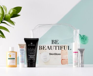 <b>FREE $134 Beauty Bag</b>