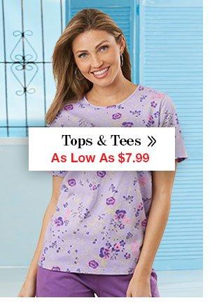 Shop Women's Tops & Tees!