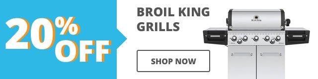 20% Off Grills