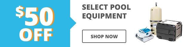 $50 Off Equipment Sale