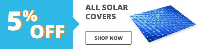 5% Off Solar Covers
