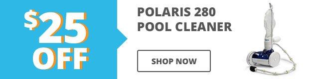 $25 Polaris 280 Pool Cleaner