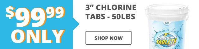 $99.99 Chlorine Tabs