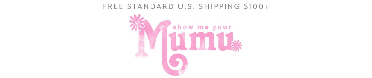 Free standard US shipping on orders over $100