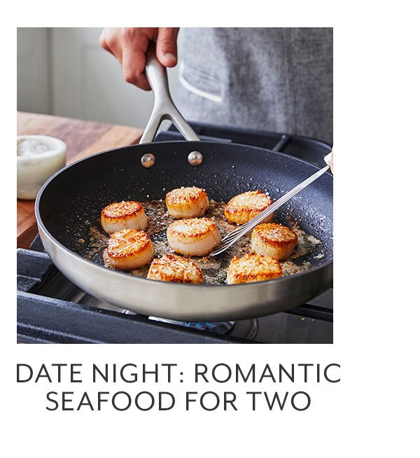 Date Night: Romantic Seafood For Two