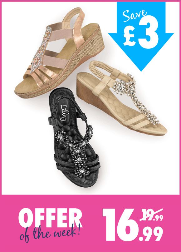 Shop-£3-Off-Womens-Wedges