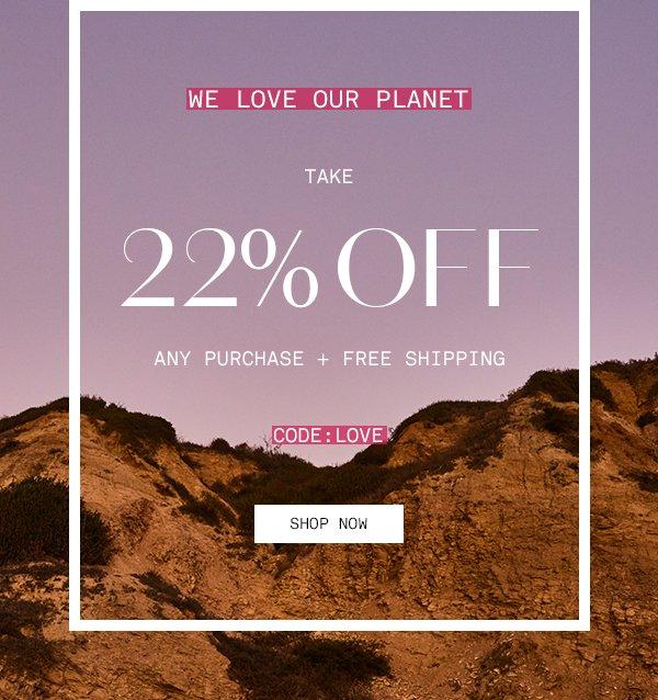 Save 22%