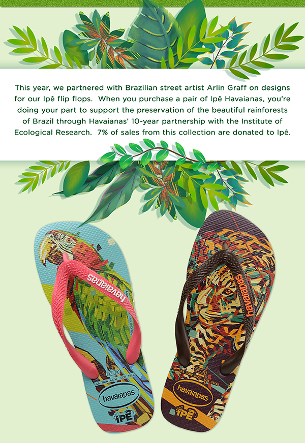 a5b0d270301d Havaianas USA  Happy Earth Day 🌍