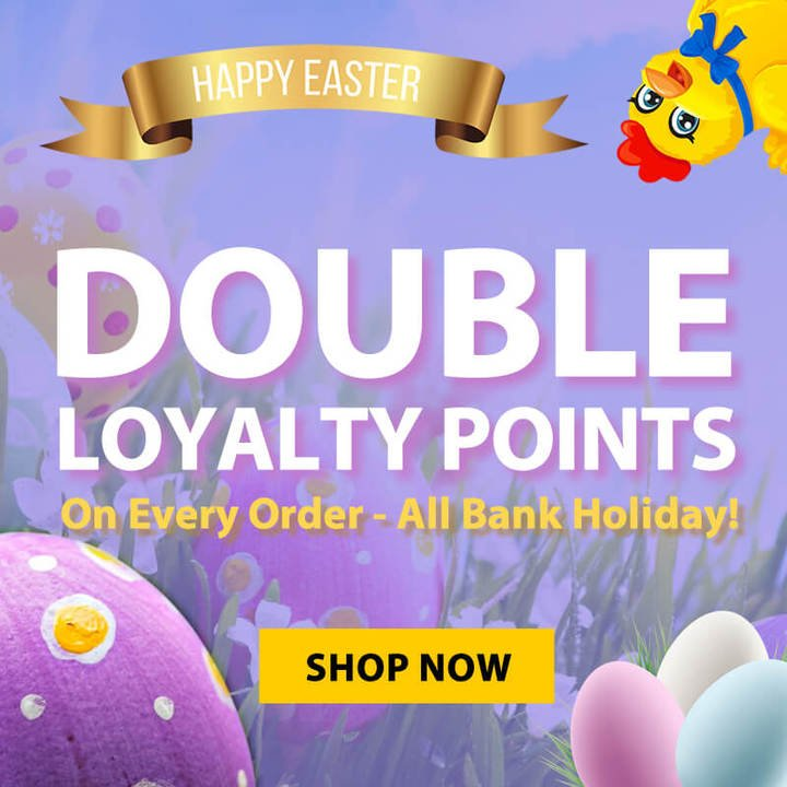 Easter Weekend Special - Shop Now