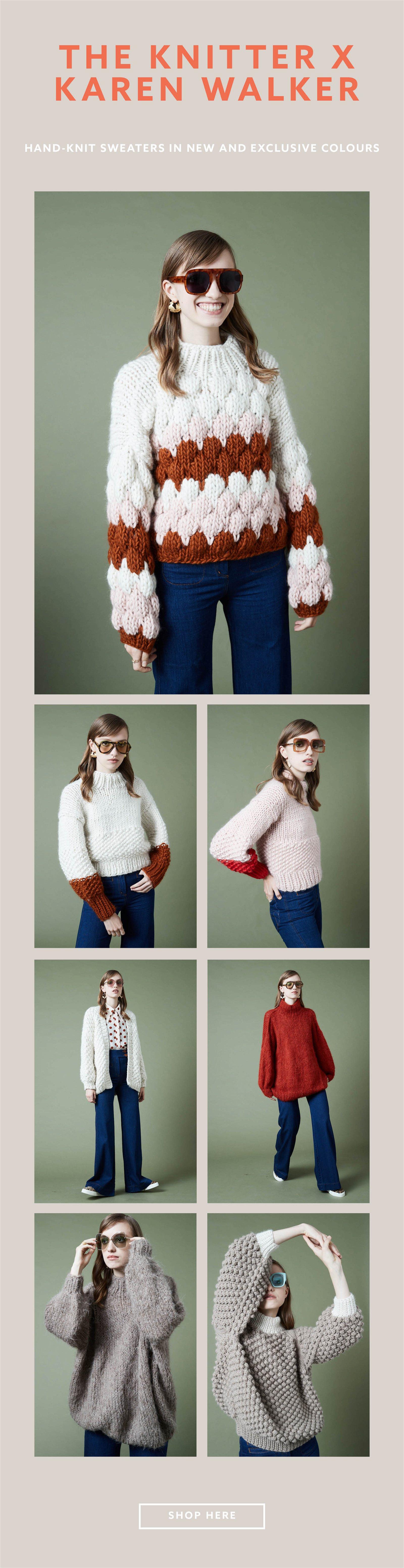 The Knitter x Karen Walker