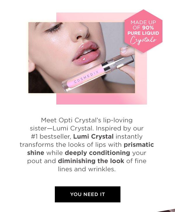 COSMEDIX: IT'S HERE! Meet Lumi Crystal ✨ | Milled