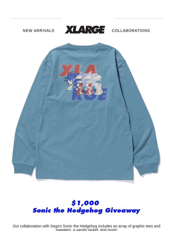Xlarge Giveaway Sonic X Xlarge Collaboration Milled