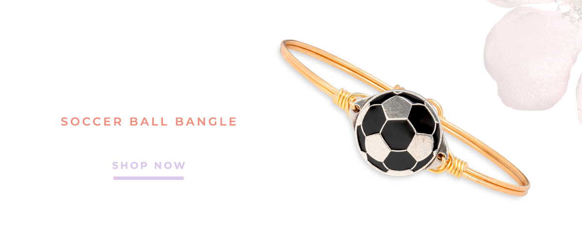 SOCCER BALL BANGLE | SHOP NOW